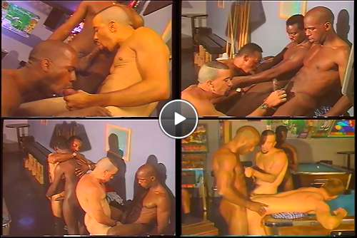 black orgy ass video